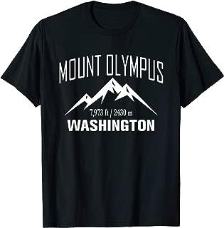 MOUNT OLYMPUS WASHINGTON Climbing Summit Club Outdoor Gift T-Shirt