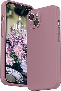 """SURPHY Siliconen Hoesje voor iPhone 13(6,1""""), Vloeibaar Siliconen Schokbestendige Case met Microvezel Voering(Individuele ..."""