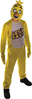 Chica Tween Costume Five Nights at Freddy's Jumpsuit, Mitts and Mask FNAF Horror