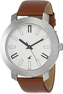 Fastrack White Dial Analog Watch for Men