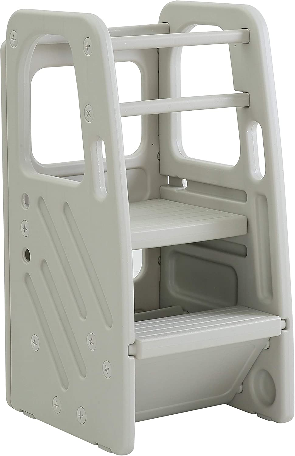 SDADI Cash special price Kids Step Stool with Three Adjustable Heights Chi Over item handling Plastic