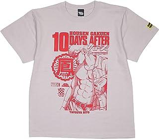 (ハードコアチョコレート) HARDCORE CHOCOLATE クローズ 殺し屋軍団 鳳仙学園・美藤竜也 (蹴撃ライトグレー)(SS:TEE)(T-1604EM-LGDR-GR) Tシャツ 半袖 漫画 高橋ヒロシ CROWS×WORST