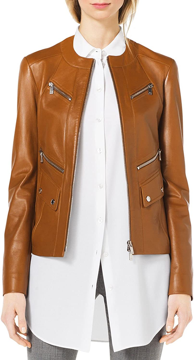 New York Leather Women Genuine Pure Leather Jacket