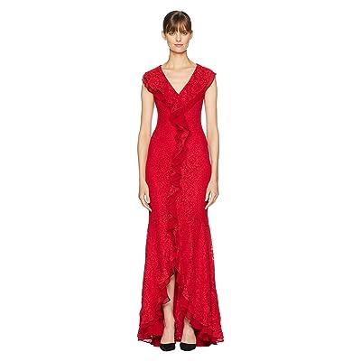 ZAC Zac Posen Aiden Gown (Red) Women