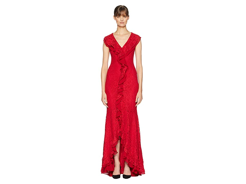ZAC Zac Posen Aiden Gown (Red) Women