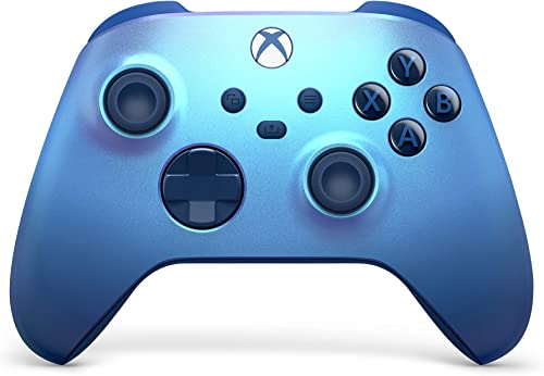 Xbox Wireless Controller – Aqua Shift for Xbox Series X|S, Xbox One, and Windows 10 Devices