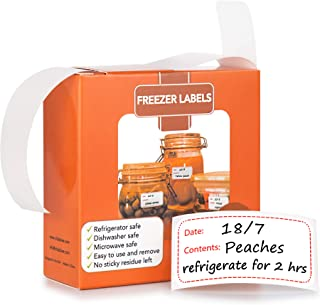 Evelots Food Labels-Freezer//Fridge-Large-Stick to Any Surface-1000 Sticker Roll