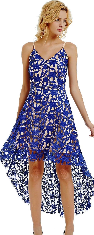 Ashir Aley V Neck White Lace Dresses for Women Plus Size Cocktail Dresses Evening Party Dresses Knee Length