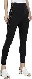 Iconic Women's 2091128 SS23FASHTREG Knitted Jeggings, Black