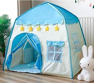 Prinsessan Tält För Barn, Innehåller Ultra Soft Rug Och Star Lights, Princess Castle Little Girls Play Tent  slottält För ...