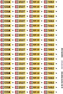 Monthly Planner Stickers School College Life Stickers Planner Labels Compatible with Erin Condren Vertical Life Planner
