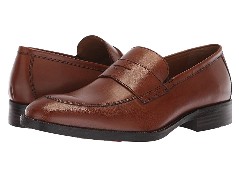 1940s Mens Shoes | Gangster, Spectator, Black and White Shoes Johnston  Murphy Alcott Penny Tan Calfskin Mens Slip-on Dress Shoes $134.95 AT vintagedancer.com