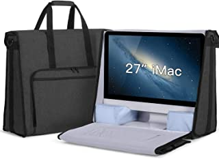 "Damero Carrying Tote Bag Compatible with Apple 27"" iMac Desktop Computer, Travel Storage Bag for iMac 27-inch and Other Accessories, Black"