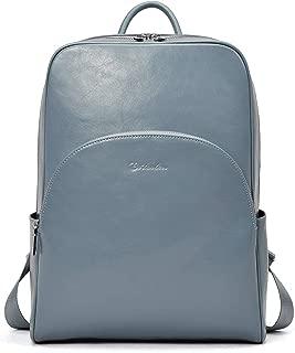 BOSTANTEN Leather Backpack Purse for Women Fashion Casual Shoulder Bag Business Travel Daypack Satchel