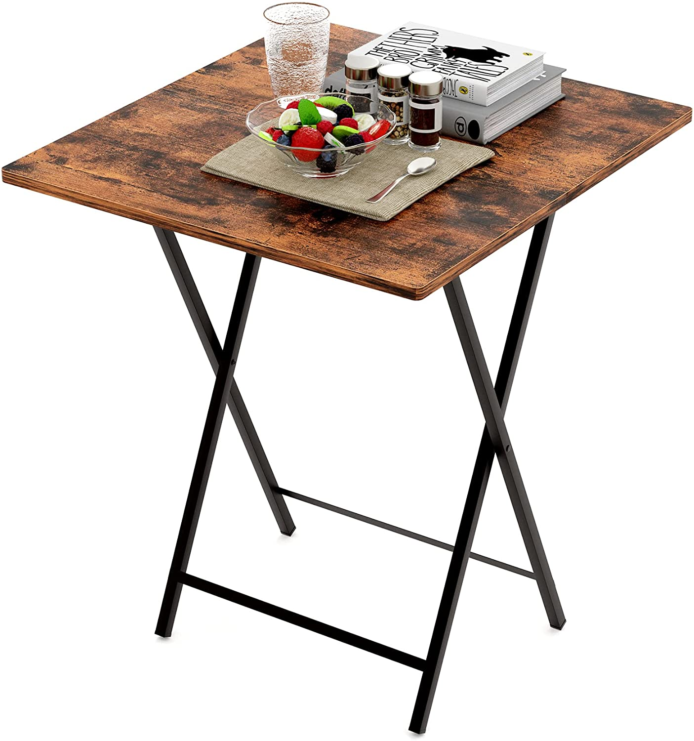 EKNITEY Folding Wooden Card Table Sale special price TV Direct sale of manufacturer - Indus Foldable Tray