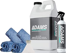 Adam's Ceramic Waterless Wash – Clean & Boost The Ceramic Protection of Boat, RV, Truck & Motorcycle - Hydrophobic Top Coat Cleaner & Sealant (Refill Complete Kit)