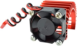 Apex RC Products 540/550 Aluminum Heat Sink W/ 30mm Fan - 3 Colors to Choose from (Red)