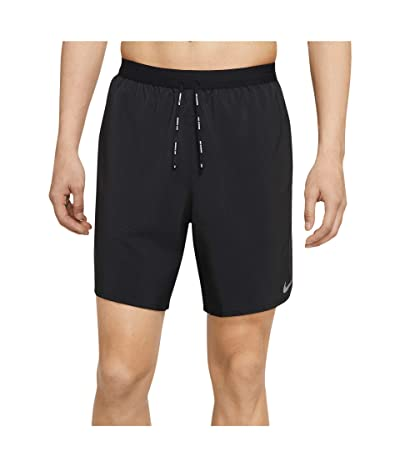 Nike Flex Stride Shorts 7 BF (Black/Reflective Silver) Men