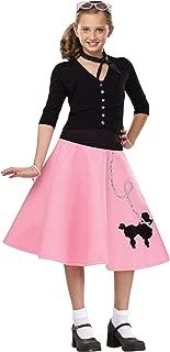 Kids 50s Poodle Skirt