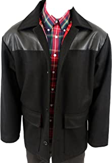 Warrior MPire Men´s Donkey Skinhead Punk Jacket Coat Tartan Lining + PVC