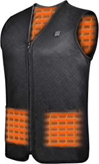 Heated Vest for Men/Women Outdoor with Battery Pack Warm Vest for Winter