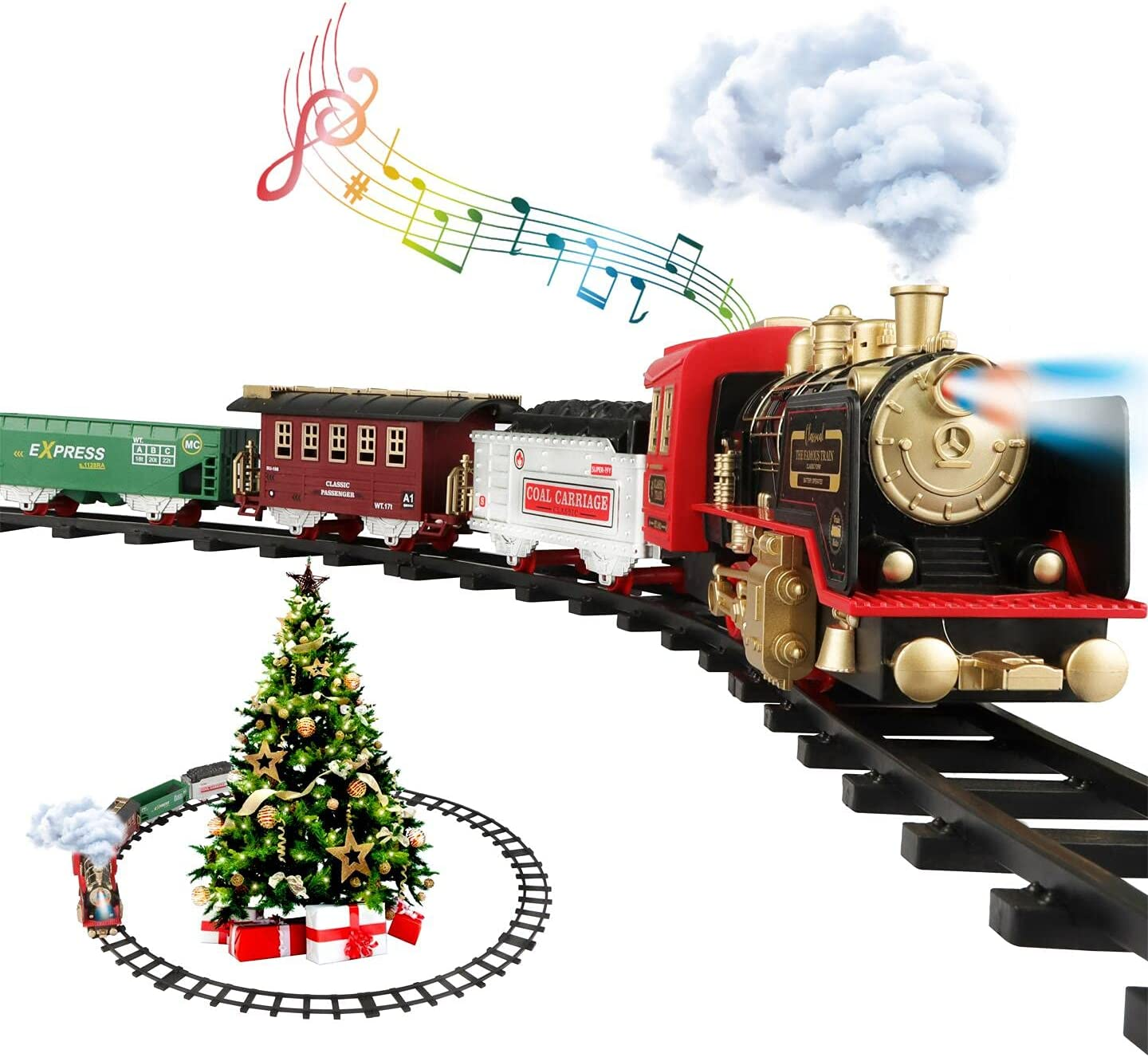 Train Set - Electric Toys for Baltimore Mall Steam E with Locomotive Limited price sale Kids