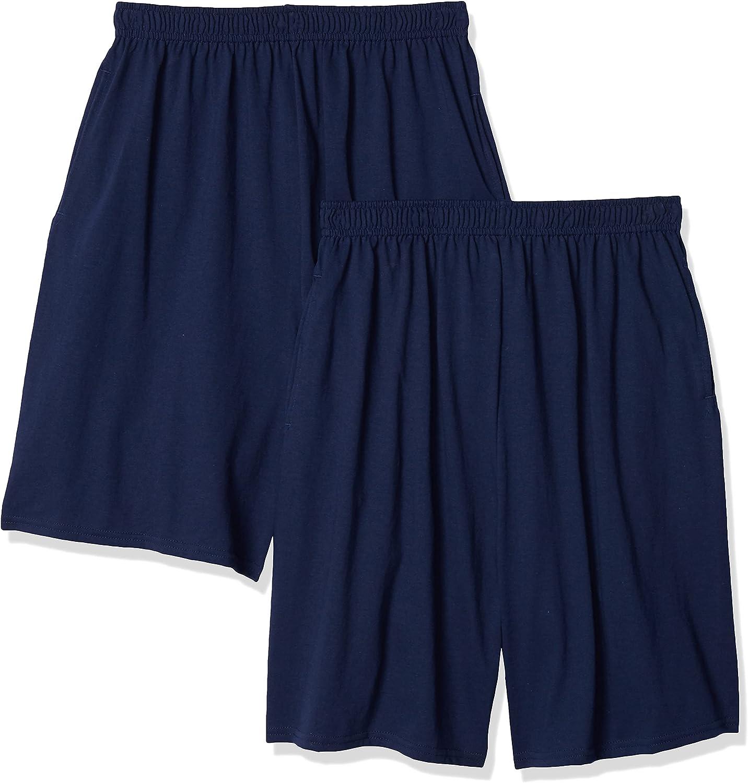 Hanes Boys Jersey Short (Pack of 2)
