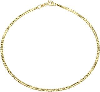 ANKLET green EMERALD Ankle Bracelet 14k Gold Chain 10/'/' Birthstone Anniversary