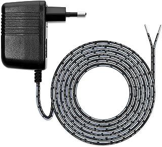 kwmobile Alimentatore Compatibile con ring Video Doorbell 1/2 / Pro - Carica-batterie Video-citofono - Cavo lungo 300cm - ...