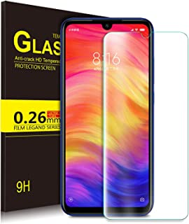 KuGi Tempered Glass Screen Protector for Xiaomi Redmi Note 7, Clear