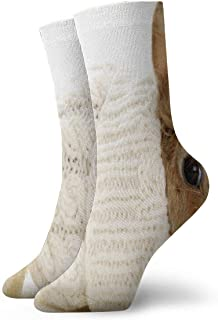 xinfub, Calcetines deportivos Cute Adorable Little Rabbit Calcetines atléticos Personalizados Anti Bacterial Olor Cushion Short Boot Stocking Comfortable10953