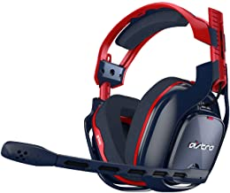 Astro Gaming - ASTRO A40 TR Wired Stereo Gaming Headset - Red/Black