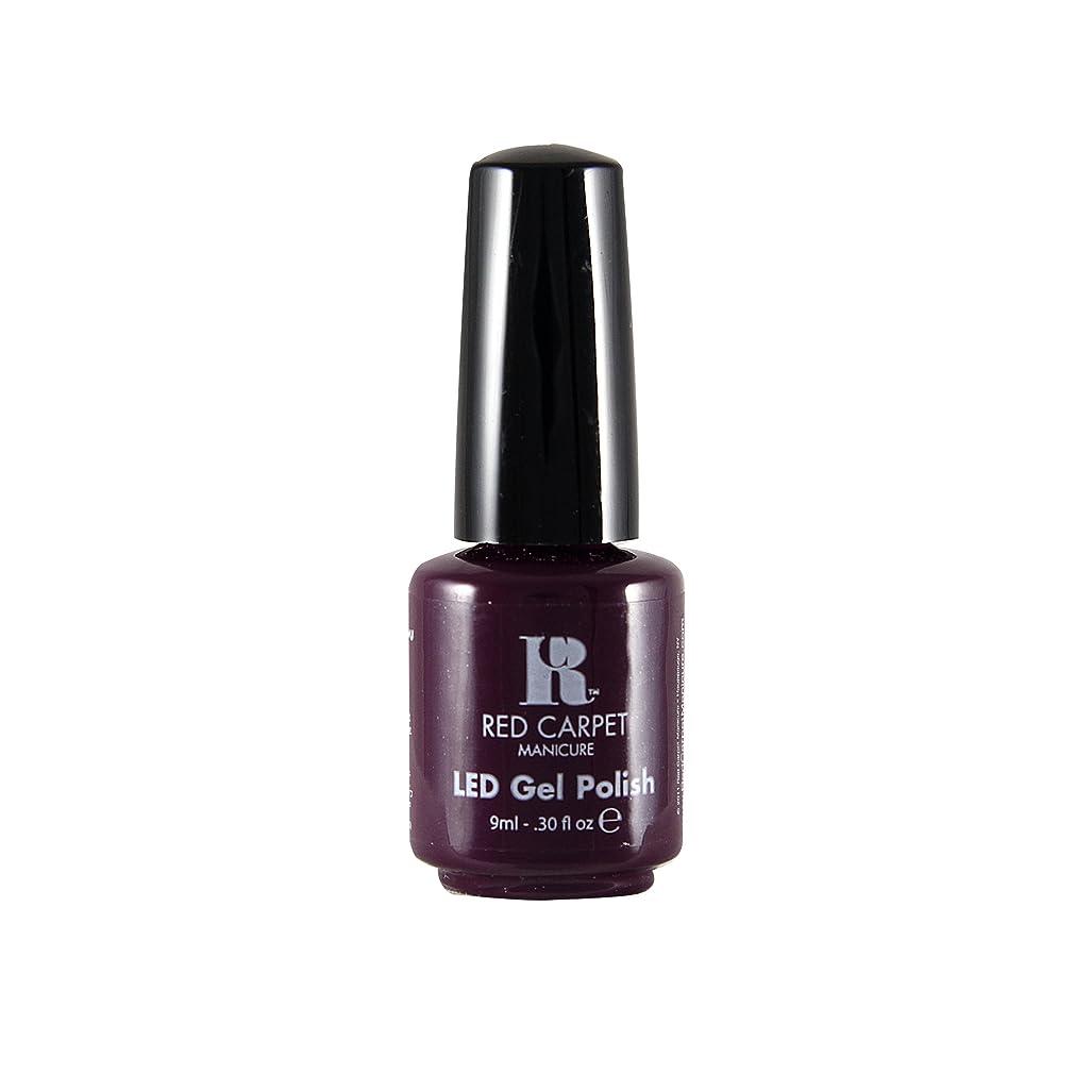 排気ボンドソケットRed Carpet Manicure - LED Nail Gel Polish - Thank You, Thank You - 0.3oz / 9ml