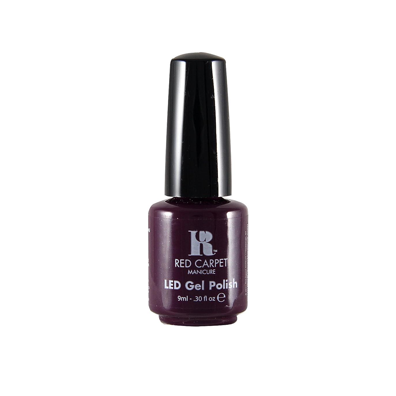 がんばり続ける男休憩Red Carpet Manicure - LED Nail Gel Polish - Thank You, Thank You - 0.3oz / 9ml