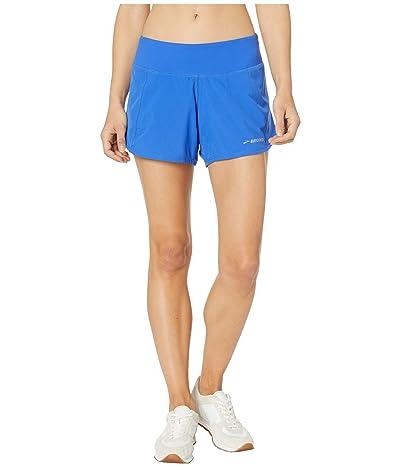Brooks Chaser 5 Shorts (Lapis/Dusk) Women