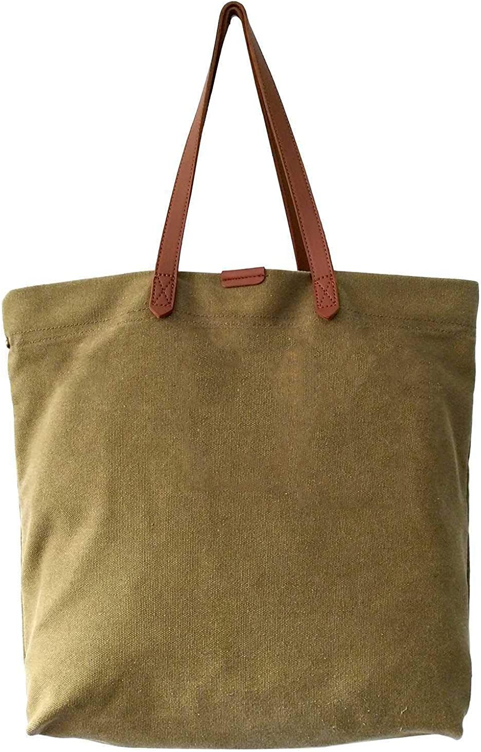 WORTHTRYIT Multi Purpose Canvas Bags Personalized Monogram Printed Canvas Market Tote Bag