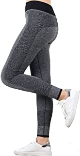 82a371d1f DENIMHOLIC Women s High Quality Stretchable Yoga Pant Gym legging Tights  (Waist  22