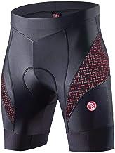Souke Sports Heren Fietsbroek 4D Gevoerde,Quick Drying Cycling Shorts Anti-Slip Outdoorbroek
