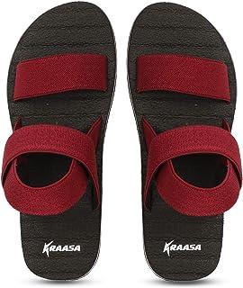 Kraasa Black Sandals