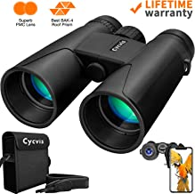 Binoculars for Adults - 10x42 Professional HD Binoculars Durable Full-Size, Binoculars for Bird Watching Travel Sightseeing Outdoor Sports Games and Concerts with Clear Weak Light Vision (1.1 pounds)