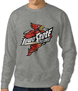 JJVAT Men's Iowa State University Crewneck Sweatshirt