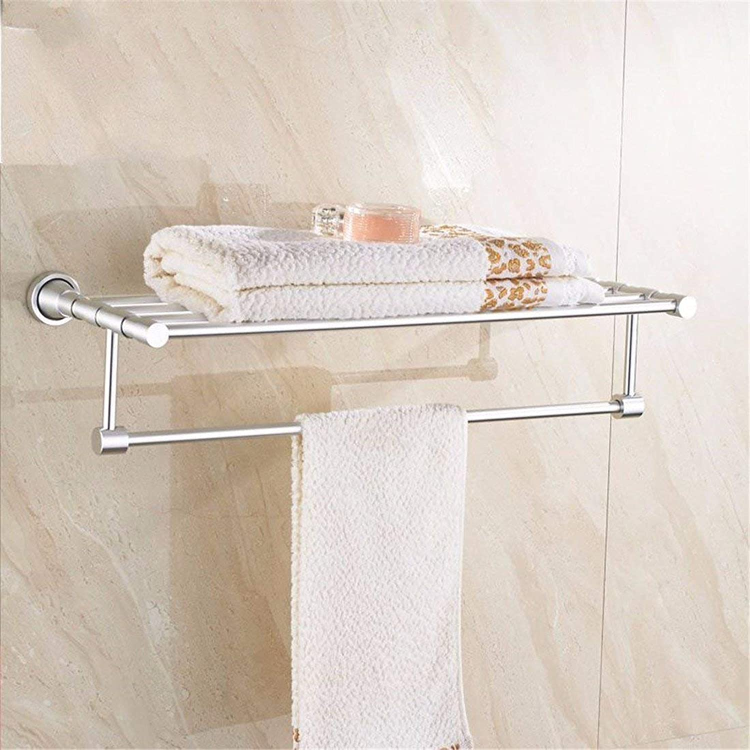 The Wire Contemporary Aluminum Dimensions, Bathroom, Box to soap, Toilet Paper, Towels Rack