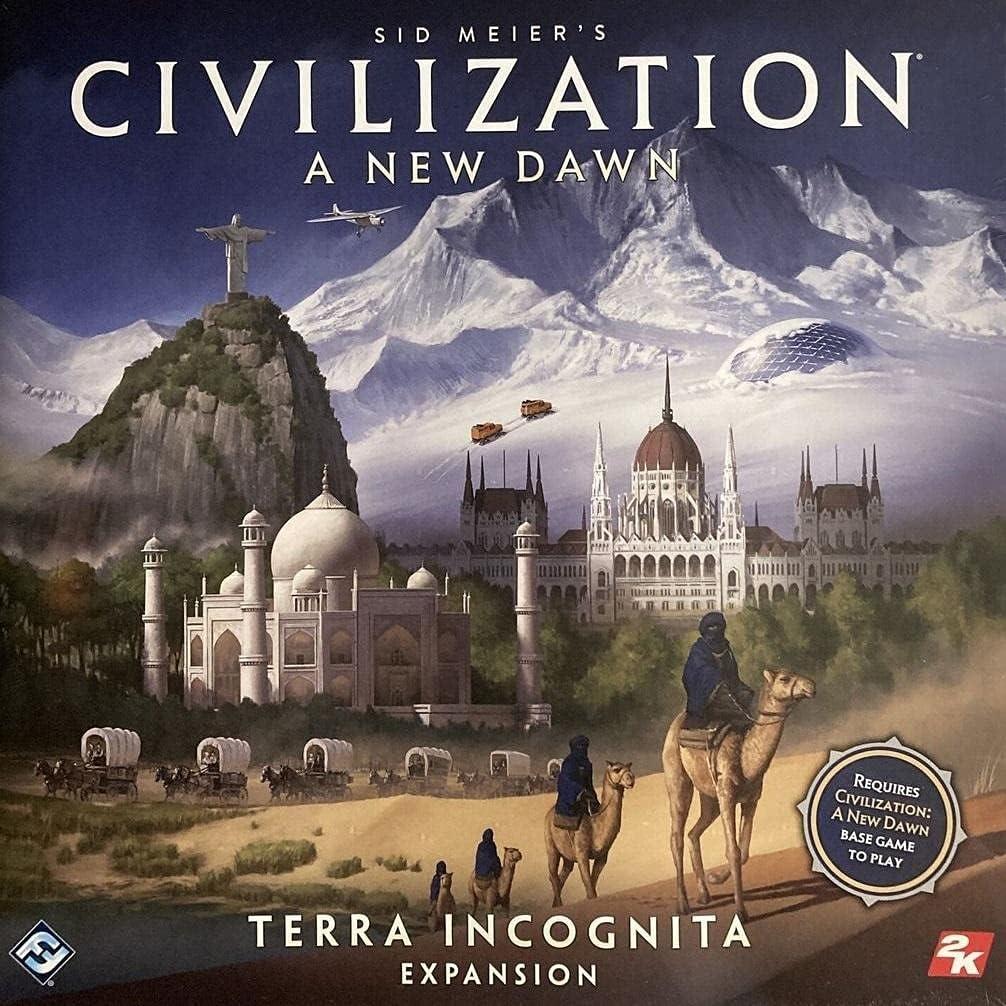 Fantasy Flight Award-winning store Civilization New Incognita Ranking TOP9 FFGCIV02 Terra Dawn: