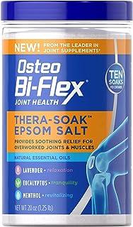 Osteo Bi-Flex® Thera-Soak Epsom Salt and Essential Oils, Contains Lavender and Eucalyptus, 20 Oz