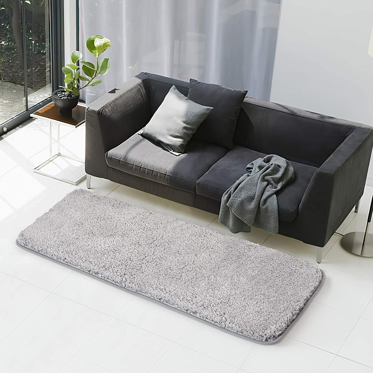 Bath Rug-COSY HOMEER 60x24 Inch NOT 40x60 Thickn Max 48% OFF Max 87% OFF Non-Slip Soft