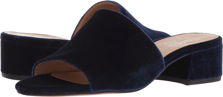 Franco Sarto Womens Tempest2 Fabric Open Toe Casual Slide Sandals