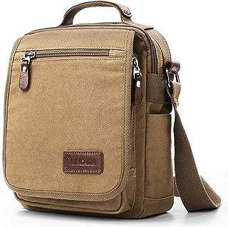 Mens Bag Messenger Bag Canvas Shoulder Bags Travel Bag Man Purse Crossbody Bags for Work Business