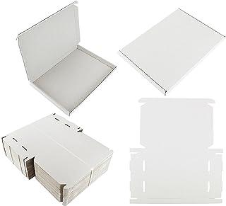 20x Blanc C4A4Caisse de grande taille Lettre solide en carton d'expédition envoi postal PIP