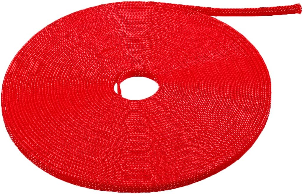 uxcell PET Limited Special Price Expandable Braided Sleeving 4-inch 33ft Oakland Mall 1 Ca