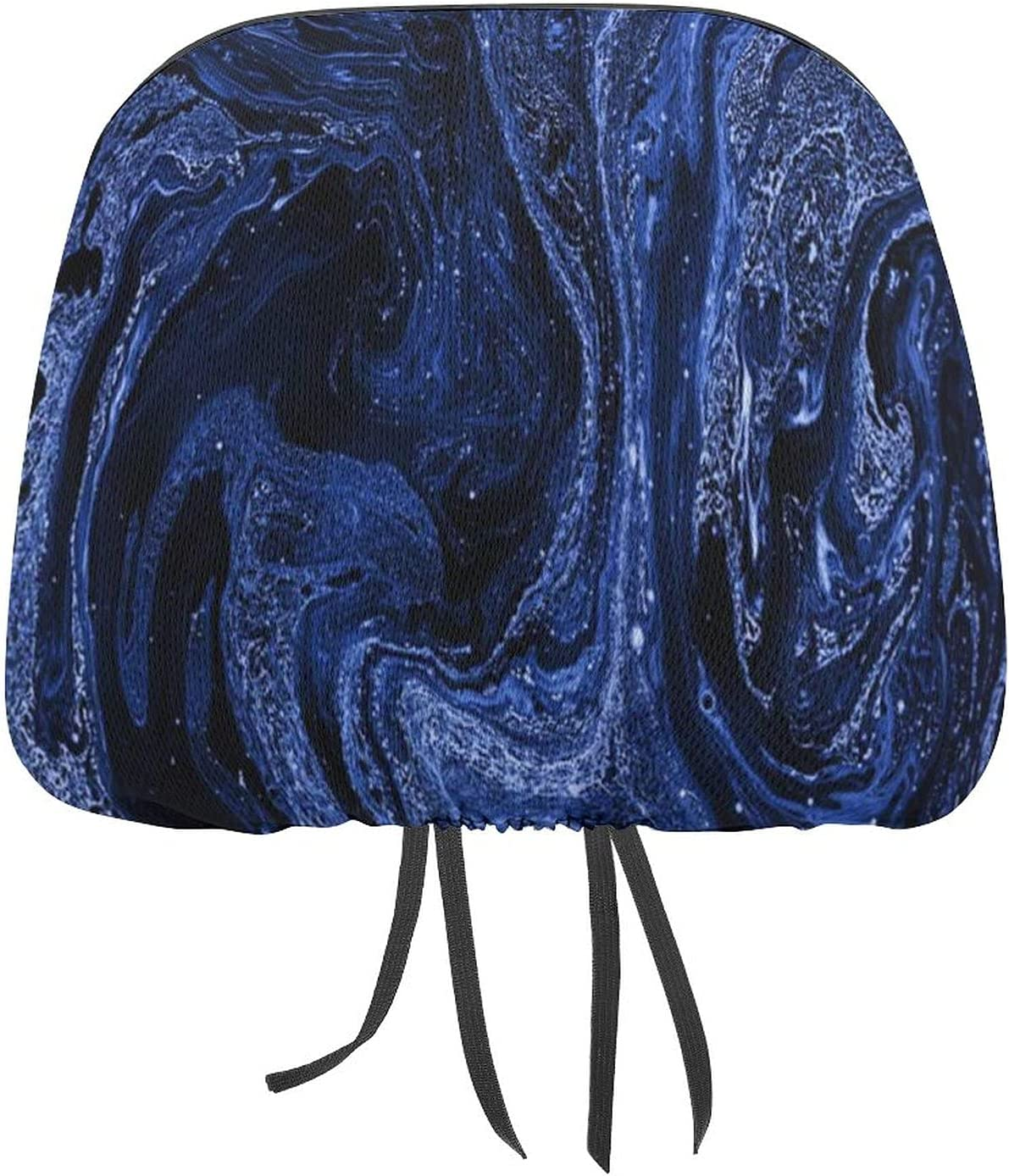 Auto Car Seat Headrest Cover Popular popular Men Beautiful Blue Women Sea Marble Recommended